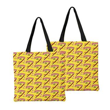 Bolsa de ombro feminina de alta capacidade, bolsa de ombro de lona, bolsa para laptop, moda urbana combinando, Macio, 9, One_Size