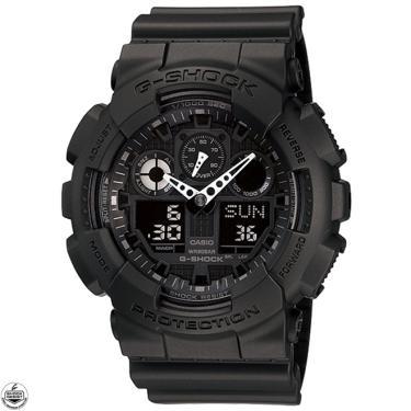 6e21c785a0c Rubi Presentes Comprar · Relógio Casio G-Shock Anadigi Masculino  GA-100-1A1DR
