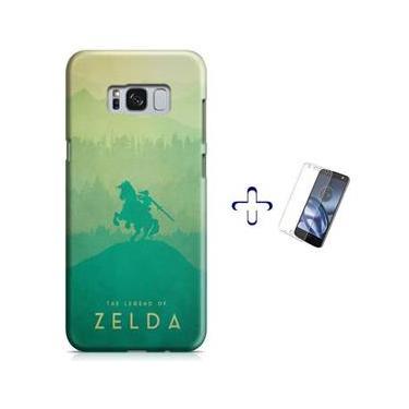 Kit Capa Case TPU Galaxy S8 The Legend Of Zelda – Breath of The Wild + Pel Vidro (BD30)