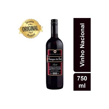 Vinho Tinto Nacional Blend Sangue de Boi Seco 750ml