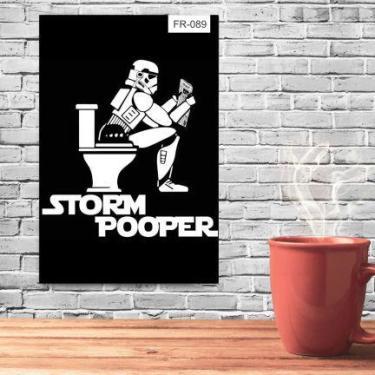 Imagem de Placa Decorativa Poster Tema Frases Star Wars - Fr-089 - Pvc 3Mm