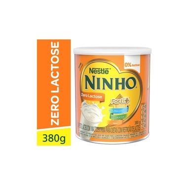 Imagem de Composto Lacteo Ninho Forti+ Zero Lactose 380g