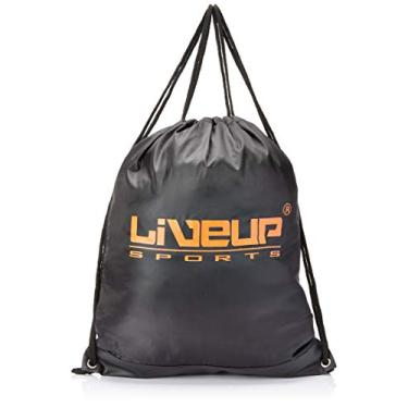Gym Sack, Mini Bolsa Para Acessórios Esportivos (Laranja), Liveup Sports