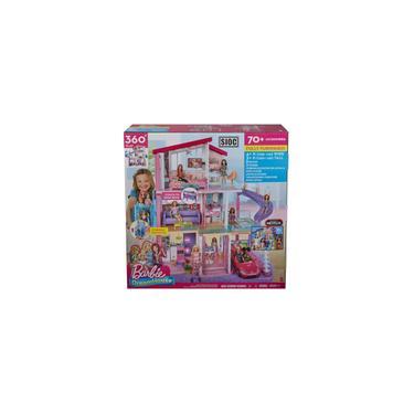 Imagem de Casa dos Sonhos da Barbie ken Stacie Casinha de Boneca Mansão com Moveis Acessorios Elevador Piscina 3 Andares 1,15 Altura GNH53