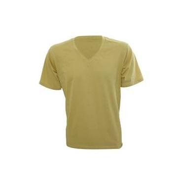 e7e68ba0a Rx Camiseta Alma De Praia Gola V Amarelo