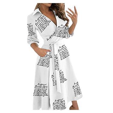 Imagem de SLENDIPLUS Vestido maxi feminino da moda, liso/estampado, decote em V, renda, justo, vestido de festa, quadris, vestido longo com bolso, #008: branco, XXG