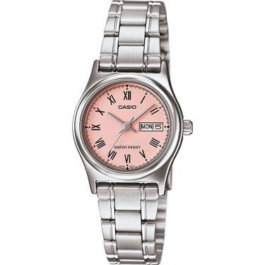 02e55f225a8 Relógio Casio LTP-V006D-4BUDF Prata Casio LTP-V006D-4BUDF-BR