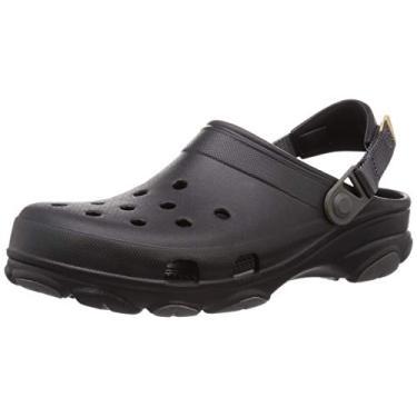 Sandália Classic All Terrain, Crocs, Adulto Unissex, Black, 39