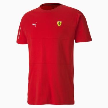 Camiseta Puma Sf Ferrari Tamanho P