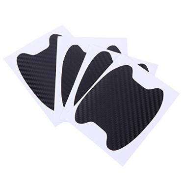 4 peças de adesivo protetor de arranhões para maçaneta de porta do carro Besportble, capa de proteção contra arranhões para carro