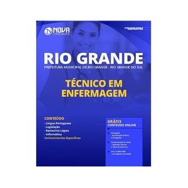 Imagem de Apostila Prefeitura Rio Grande RS - Técnico em Enfermagem