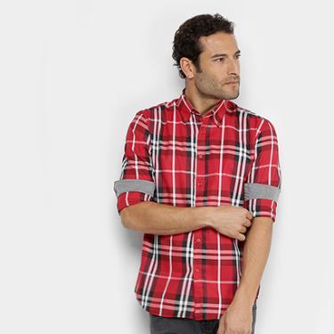 Camisa Xadrez Broken Rules Masculina - Masculino 42b3489615d26