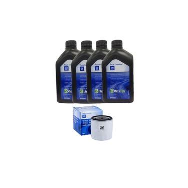 Kit Filtro De Oleo 4l Oleo 5w30 Sintetico Original Gm Cod.ref. 24588463 Prisma /cobalt /onix /spin