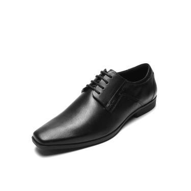Sapato Couro Ferracini Liso Preto Ferracini 4304-281G masculino