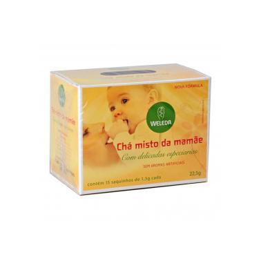 Chá Misto da Mamãe Weleda c/ 15 Saquinhos de 1,5g Cada