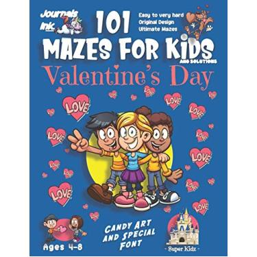 101 Mazes for Kids: SUPER KIDZ Book. Children - Ages 4-8 (US Edition). Cute Custom Candy Art Interior. 101 Puzzles & Solutions. 3 Best Friends, Blue. ... and ultimate mazes for a fun activity gift!
