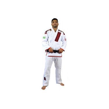 Kimono Jiu Jitsu Keiko Ouro - Branco
