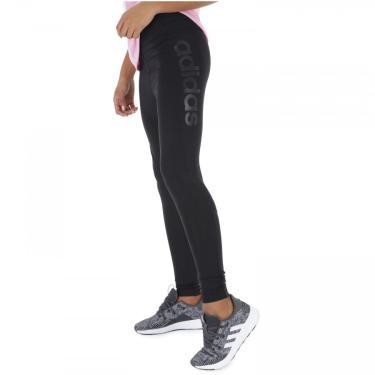 Calça Legging adidas D2M HR Long - Feminina adidas Feminino