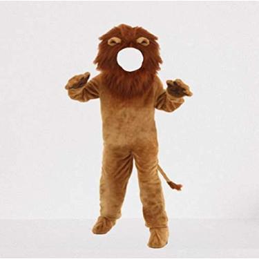 Imagem de Fantasia Zuunky Compatível com Fantasia Infantil Completa Rei Leão Cosplay Halloween (Leão, 150 (11 e 12 anos))