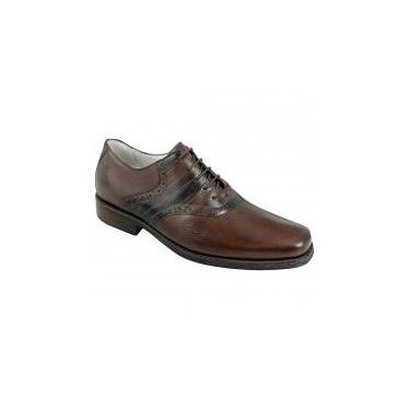 dd2443fd94 Sapato social masculino oxford sandro moscoloni newton marrom brown -