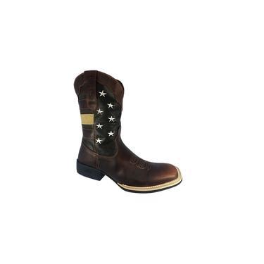 Bota Western Tropeiro Boots Couro Original