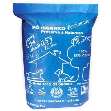 Pó Higiênico Easy Pet & House Marine - 1 Kg