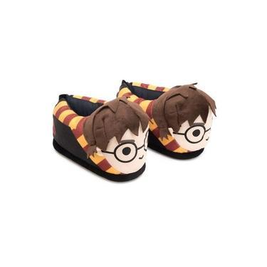Pantufa Harry Potter 3D Com Sola De Borracha Ricsen 37/39