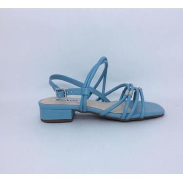 Imagem de Sandalia T2531-381 Bebece Bebecê Azul  feminino