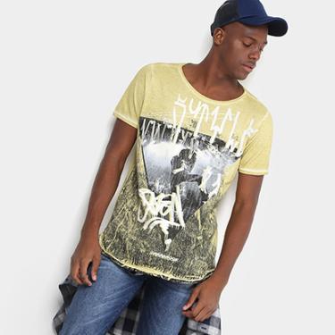 4132d2b34b Camiseta Opera Rock Estampada Masculina - Masculino