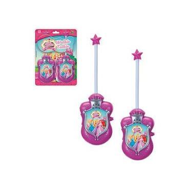 Rádio Comunicador Walkie Talkie Infantil Abbie Princesas