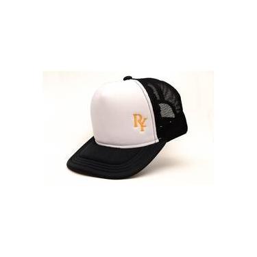 Boné Rich Young Trucker Com Branco cf065847c57