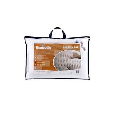 Imagem de Travesseiro Ortopédico Látex Importado Basic Flat Dunlopillo Copespuma
