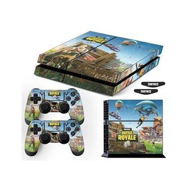 Adesivo Skin Playstation 4 Fat Fortnite