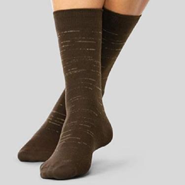 Meia Sportwear Lupo Cor:Marrom;Tamanho:39/43
