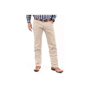 Calça Jeans Masculina Wrangler Tradicional Palha