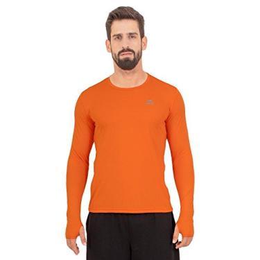 Imagem de Camisa Running Performance G1 Uv50 Ls/hc - Muvin - Clr-200 - Laranja - P