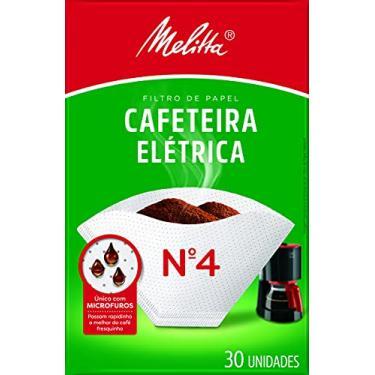 Filtro de Papel Cafeteira nº 4 Melitta 30 Unidades