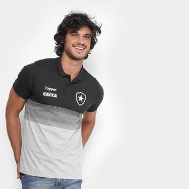 9e8def5ac0 Camisa Polo Botafogo Viagem Topper Masculina - Masculino
