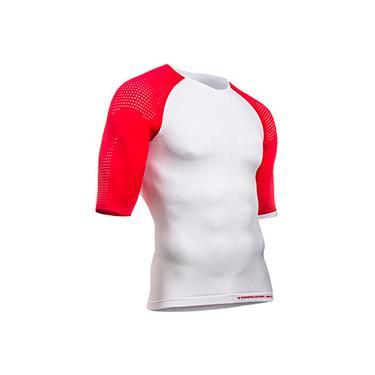 Camisa de Compressão On Off Branco SS MultiSport