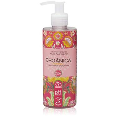 Orgânica Puro Vegetal Framboesa E Orquídea Sabonete Líquido 250 Ml, Organica