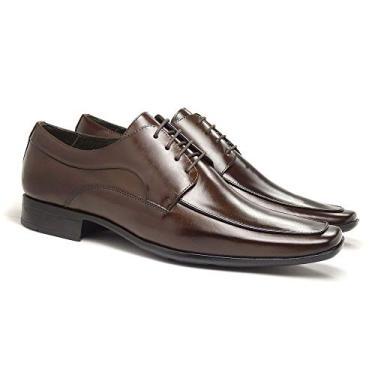 01ecc1dc3 Sapato Social Marrom: Encontre Promoções e o Menor Preço No Zoom
