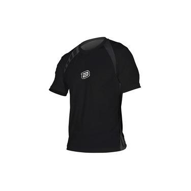 Camisa ASW Segunda Pele 2017 Manga Curta Preto