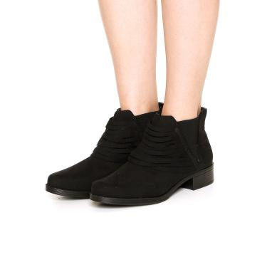 bd4308614a Bota DAFITI SHOES Suede Preto Dafiti Shoes 401.003 feminino