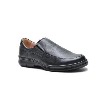 Sapato Conforto Masculino DED Calçados Social Sem Cadarço