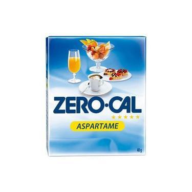 Adoçante Em Pó Aspartame De 0,8gr Caixa Com 50 Sachês - Zero Cal
