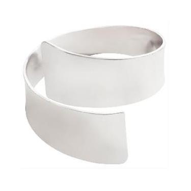 Argolas 4 (quatro) para Guardanapo bracelete - Prateado