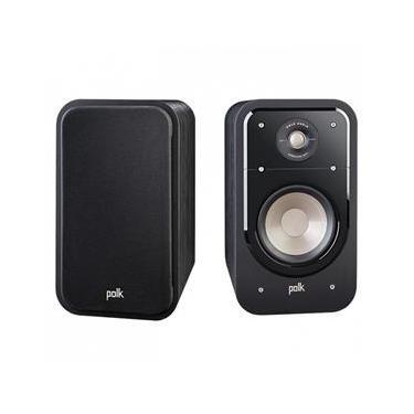 Polk Audio Signature S20 Par de caixas acústicas Bookshelf 125w 8 Ohms Preto