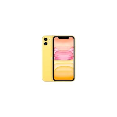 "iPhone 11 Apple (256GB) Amarelo Tela 6,1"" Câmera 12MP iOS"