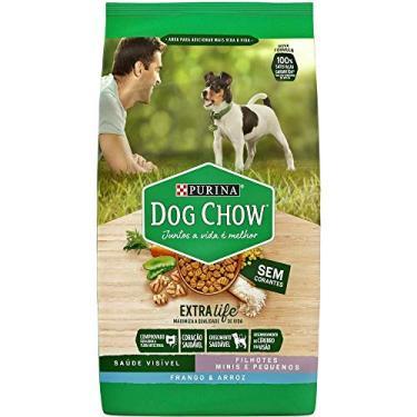 Ração Dog Chow Para Cães Filhotes De Raças Pequenas Sabor Frango E Arroz - 15Kg Purina Para Todas Pequeno Filhotes - Sabor Frango