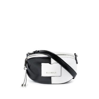 Shoulder Bag Rock Ellus Preto/Branca